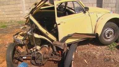 Motorista de Fusca atingido por ônibus em rodovia permanece internado em Araraquara - Tragédia deixou 5 pessoas mortas.