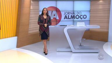 Confira a íntegra do Jornal do Almoço desta quarta-feira (31) - Assista ao vídeo.
