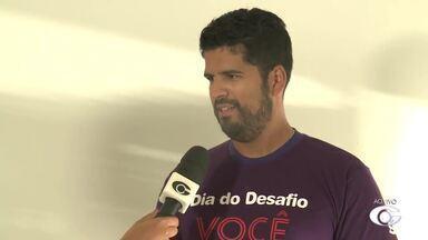 Dia do Desafio é realizado em Arapiraca - Ação tem como objetivo acabar com o sedentarismo.