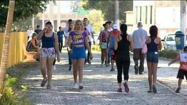 Dia do Desafio movimenta população em Colatina, ES - Evento vai até as 18h.