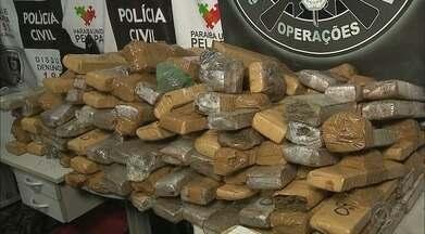 Polícia desarticula esquema de tráfico de drogas na Paraíba - Foi uma das maiores apreensões de drogas este ano na Paraíba.