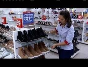 Lojistas estão otimistas com vendas para o inverno - Muitas lojistas já trocaram mostruários.