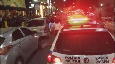Policial rodoviário federal é detido após atirar em homem em Poços de Caldas (MG) - Policial rodoviário federal é detido após atirar em homem em Poços de Caldas (MG)