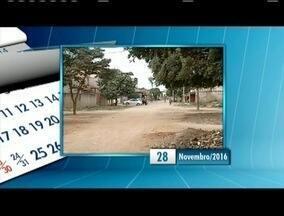 'Calendário': Moradores reclamam da situação de avenida em Governador Valadares - Segundo moradores os problemas são recorrentes.