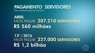 Governo do RJ ainda não divulgou quando salário de servidores estaduais serão pagos - Confira a seguir.