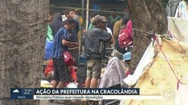 Ministério Público quer impedir demolições da prefeitura na Cracolândia - O MP entrou na Justição com uma ação civil pública para impedir que a prefeitura faça demolições na região da Cracolândia.