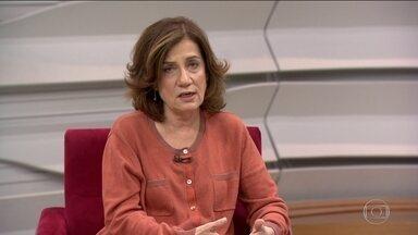 Miriam Leitão destaca discussão sobre inclusão de novas provas no julgamento do TSE - Para a comentarista, esse deve ser o ponto mais polêmico na segunda sessão do julgamento do processo que pede a cassação da chapa Dilma-Temer no TSE.