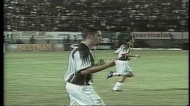 No segundo jogo da semifinal de 99, o Vitória ganhou do Atlético-MG por 2 a 1, no Barradão - Guilherme marcou o gol atleticano do jogo