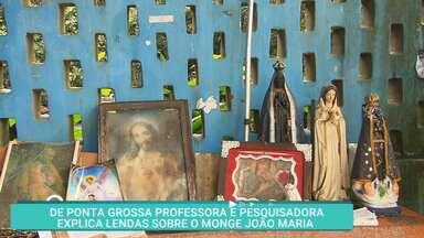 Conheça a história do monge João Maria, que abalou Ponta Grossa - De Ponta Grossa, professora e pesquisadora explica lendas à respeito do monge João Maria.