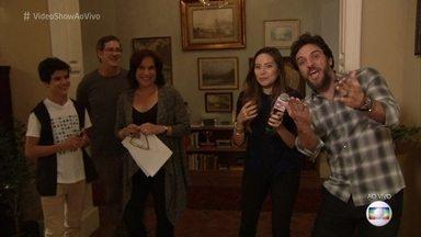 'Vídeo show' invade os bastidores de 'A Força do Querer' - Rodrigo Lombardi comenta a trama da novela