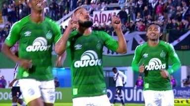 Os gols de Chapecoense 2 x 1 Vasco pela 7ª rodada do Brasileirão - Time da casa vence com gols de Andrei Girotto e Arthur