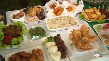 Comidas típicas são um dos principais atrativos da Expo Japão - A Expo Japão reúne uma grande variedade de comidas, pra todos os gostos.
