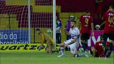 Em jogo com muitos erros, São Paulo fica no 0 a 0 com Sport - Em jogo com muitos erros, São Paulo fica no 0 a 0 com Sport