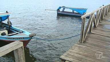 Jornal Tapajós vai saber se após determinação, barcos continuam atracando na Orla - Determinação da Prefeitura proíbe de atracação de barcos em trecho da Orla.