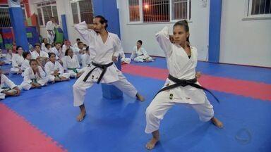 Projeto de karatê em Cuiabá sonha com a Olimpíada Tóquio 2020 - Projeto de karatê em Cuiabá sonha com a Olimpíada Tóquio 2020