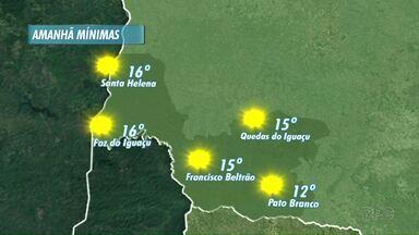 Sexta Feira será de sol na região - Veja a previsão no mapa.