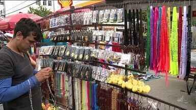 Festa de Corpus Christi movimenta a economia em Castelo, ES - Cidade recebeu 80 mil pessoas nesse feriado.