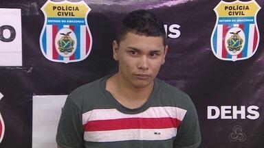 Suspeito de ser mandante do assassinato do cantor da Jr. e Banda é preso em Manaus - Homem confessou crime, que ocorreu em abril deste ano, em Codajás.