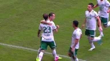 Os gols de Bahia 2 x 4 Palmeiras pela 8ª rodada do Brasileirão - Alviverde vence a primeira fora de casa em partida muito movimentada.