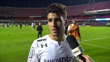 Marcinho diz que São paulo errou como um todo, ataque e defesa - Marcinho diz que São paulo errou como um todo, ataque e defesa