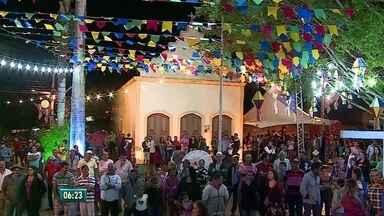 Zona Rural de Caruaru ganha programação de São João - Vilarejo recebeu shows no São João na Roça