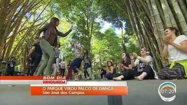 Festidança termina em São José dos Campos - Atividade no Vicentina Aranha encerrou festival.