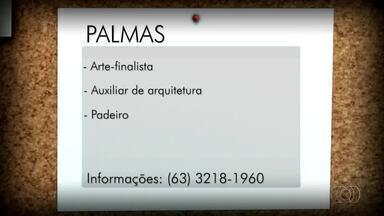 Veja as vagas de emprego disponíveis para Palmas, Porto Nacional e Gurupi - Veja as vagas de emprego disponíveis para Palmas, Porto Nacional e Gurupi