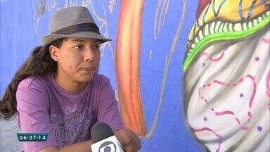 Moradores do centro da capital modificam espaços abandonados - Saiba mais em g1.com.br/ce