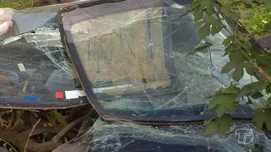 Dois acidentes são registrados na madrugada de domingo e deixa vítimas em Santarém - Polícia investiga tentativa de homicídio em um dos acidentes.