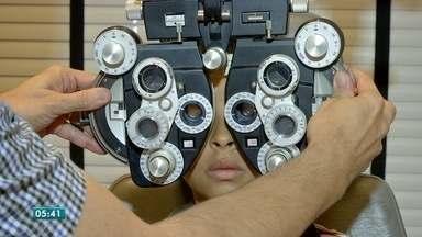 Crianças tem apresentado problemas de visão cada vez mais cedo - Crianças tem apresentado problemas de visão cada vez mais cedo.