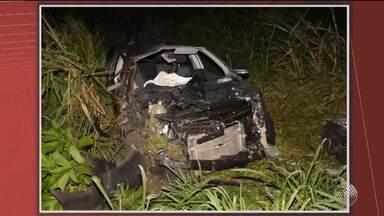 Final de semana é marcado por mortes em estradas que cortam o sul da Bahia - Nove pessoas morreram.