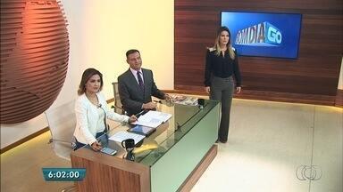 Veja os destaques do Bom Dia Goiás desta terça-feira (20) - Homem é preso suspeito de matar a esposa e a enteada em Goiânia.
