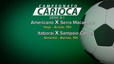 Confira a tabela de jogos dos campeonatos Carioca e Brasileirão - Assista a seguir.
