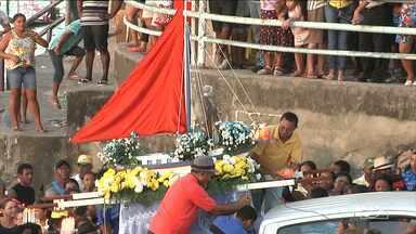Procissão marítima marca dia de São Pedro em Santa Inês - Procissão marítima marca dia de São Pedro em Santa Inês