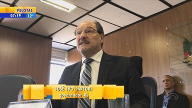 Em vídeo, Sartori reclama da demora da Assembleia - Governador tem pressa na votação de projetos.