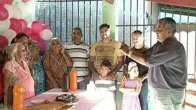 Vovós do Tocantins completam 105 e 110 anos e ganham festa de aniversário - Vovós do Tocantins completam 105 e 110 anos e ganham festa de aniversário
