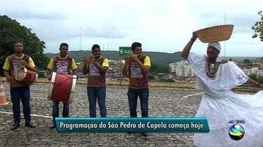 Programação do São Pedro de Capela começa nesta quinta-feira - Programação do São Pedro de Capela começa nesta quinta-feira.