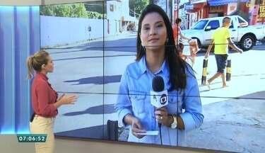 Pedestres e motoristas reclamam da falta de sinalização no Bairro Álvaro Weyne - Saiba mais em g1.com.br/ce