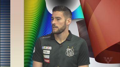 Gabriel Gasparotto analisa estreia do Santos B na Copa Paulista - Peixe jogará torneio a partir deste fim de semana