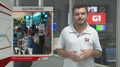 G1 destaca paralisação da Eletrobras nesta quinta-feira, 29 - Veja participação do G1 no Bom dia Amazônia.
