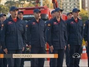 Corpo de Bombeiros forma novos soldados em Passo Fundo, RS - 26 novos soldados devem reforçar o efetivo na região
