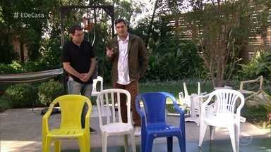 Os perigos das cadeiras de plástico - Zeca Camargo mostra como o mau uso dessas cadeiras pode causar acidentes