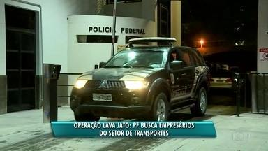 Operação Lava Jato: PF busca empresários do setor de transportes no Rio - A Polícia Federal está nas ruas para mais uma etapa da Operação Lava Jato. Os alvos da investigação são empresários do setor de transportes.