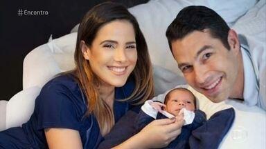 Wanessa Camargo lembra do nascimento dos dois filhos - Cantora fala da importância da participação do marido Marcos Buaiz durante todo o processo. Ela conta que Zezé Di Camargo também a acompanhou na maternidade