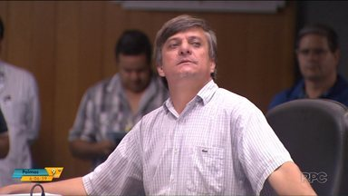 Tribunal de Justiça condena vereador de Londrina por desacato - A punição é referente à uma acusação feita há quatro anos. O vereador Boca Aberta (PR), já foi condenado nesse mesmo caso e tinha recorrido da sentença.
