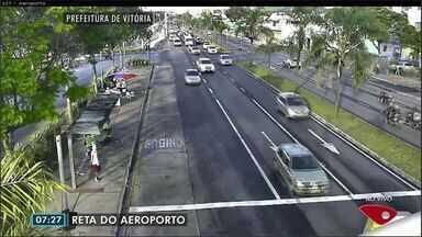 Confira imagens do trânsito na Grande Vitória nesta terça-feira (4) - Câmeras mostram as principais vias da região metropolitana.
