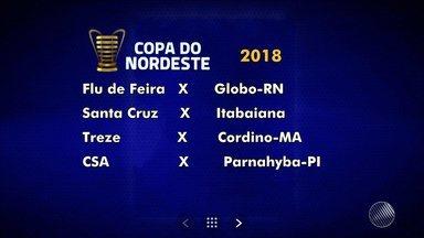 Flu de Feira enfrenta o Globo-RN em seletiva da Copa do Nordeste de 2018 - Confira as notícias sobre o Nordestão 2018.
