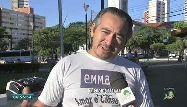 Campanha do Emaus para receber doações no Bairro de Fátima - Saiba mais em g1.com.br/ce