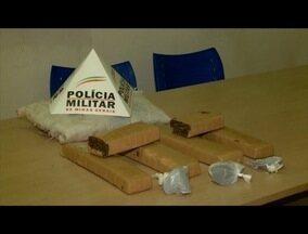 Oito quilos de maconha são apreendidos pela PM em Ipatinga - Suspeito de 18 anos foi preso.