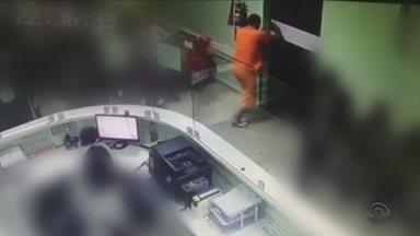 Preso que fugiu de hospital rendeu agente no banheiro em luta corporal, diz polícia - Preso que fugiu de hospital rendeu agente no banheiro em luta corporal, diz polícia